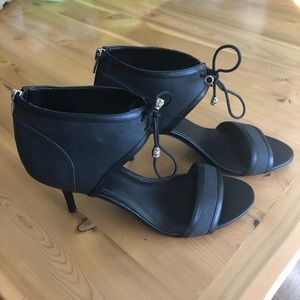 Sole society new black heels 9.5
